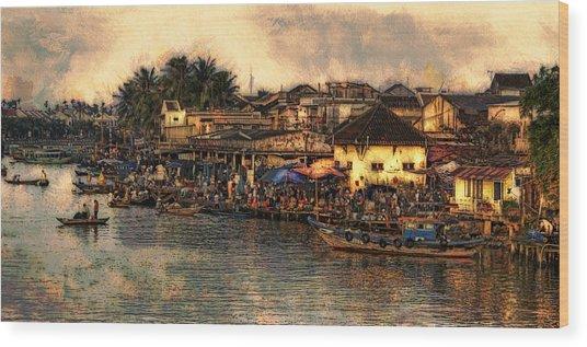 Hoi Ahnscape Wood Print