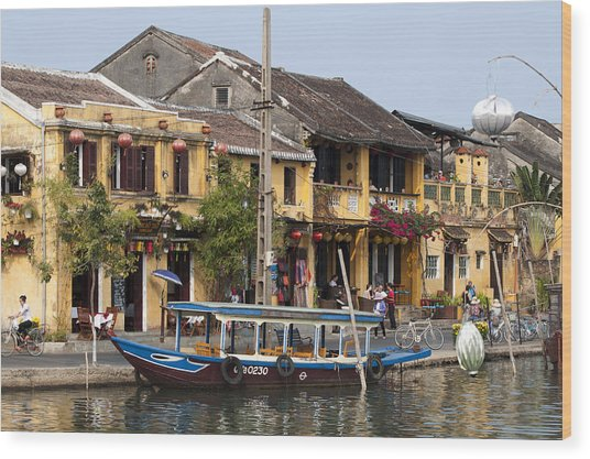 Hoi An Ancient Town Wood Print