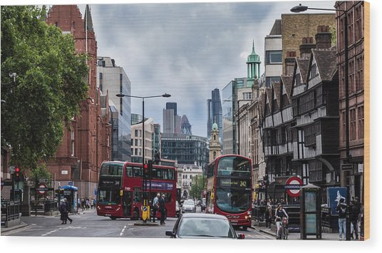 Holborn - London Wood Print