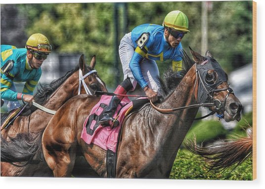 Holiday Bonus With Irad Oriz, Jr. Wood Print