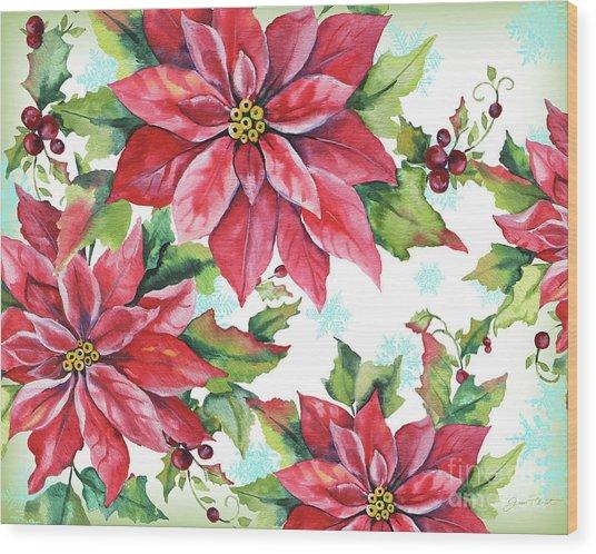Holiday Celebration-a Wood Print