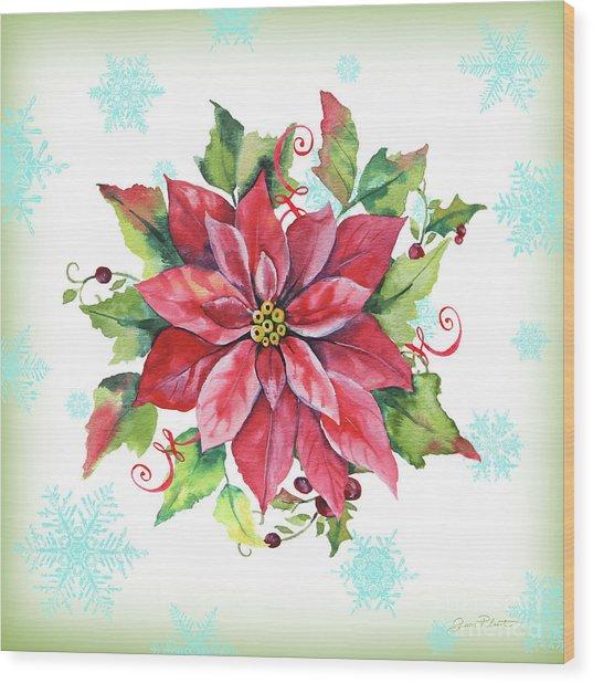 Holiday Celebration-e Wood Print