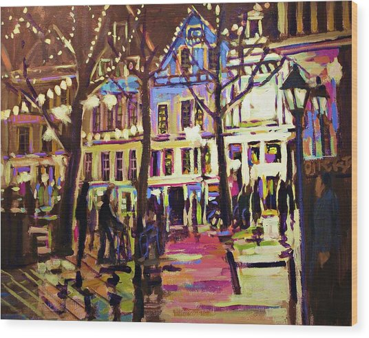 Holland Nights Wood Print by Brian Simons