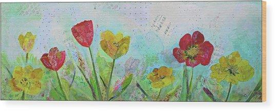 Holland Tulip Festival I Wood Print