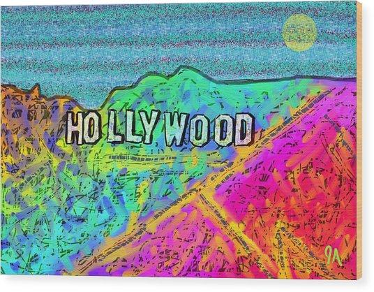 Hollycolorwood Wood Print