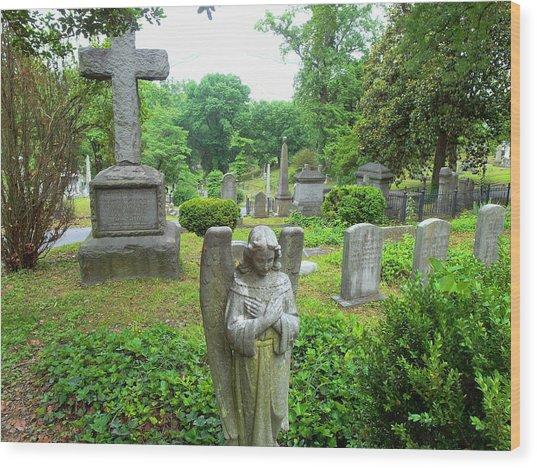 Hollywood Cemetery Wood Print