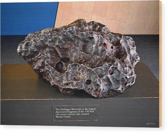 Holsinger Meteorite 001 Wood Print