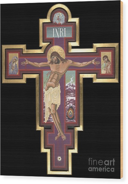 Holy Cross Of The New Advent 162 Wood Print