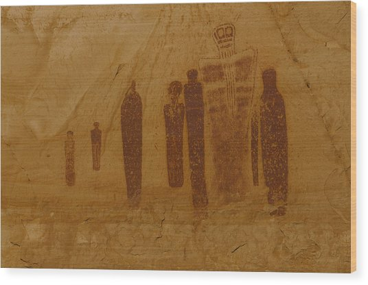 Holy Ghost Canyonlands National Park Wood Print