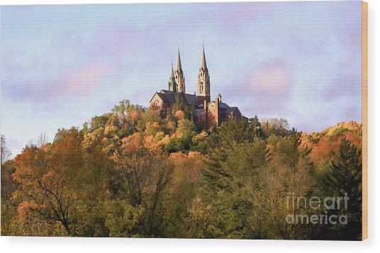 Holy Hill Basilica, National Shrine Of Mary Wood Print