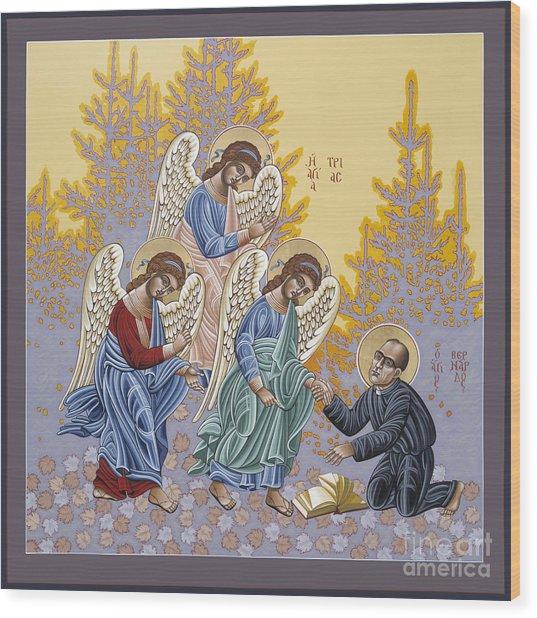 Holy Theologian Bernard Lonergan 122 Wood Print