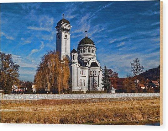 Holy Trinity Church Sighisoara Wood Print
