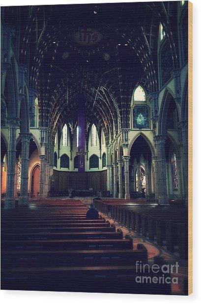 Holy Week Wood Print