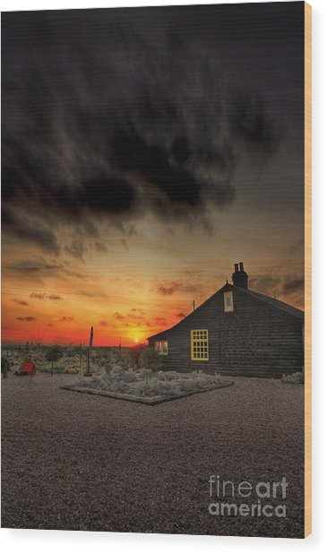 Home To Derek Jarman Wood Print