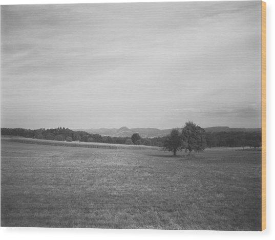 Homeland Wood Print
