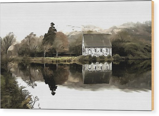 Homely House Wood Print