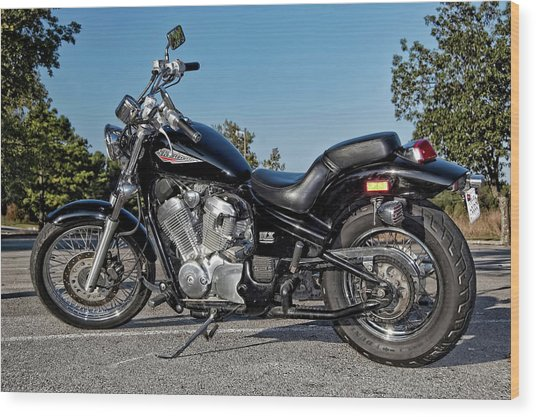 Honda Shadow Wood Print
