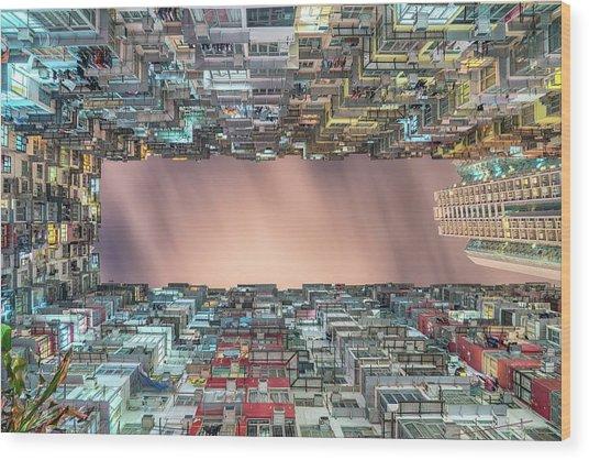 Hong Kong Reveal Wood Print