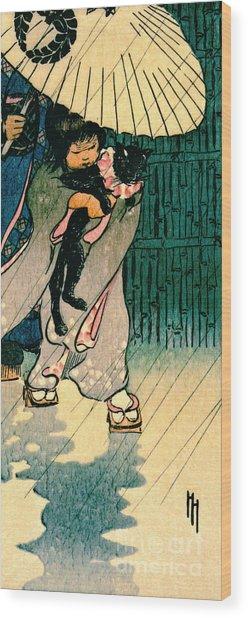 Honorable Mr. Cat 1903 Wood Print