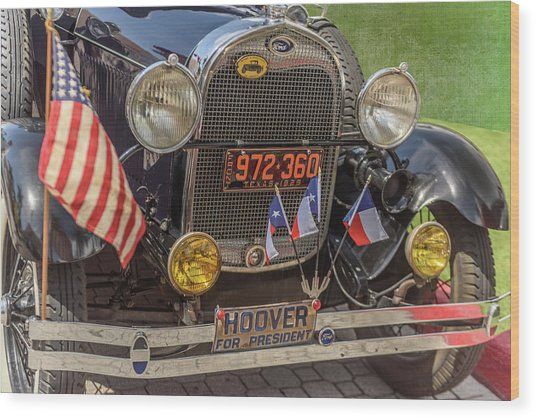 Hoover Era Ford Wood Print
