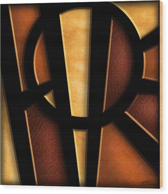 Hope - Abstract Wood Print
