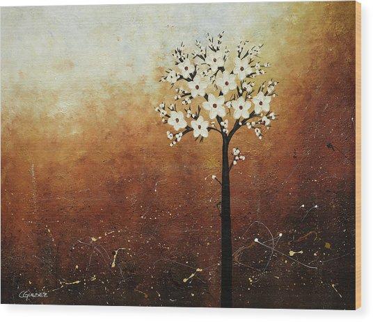 Hope On The Horizon Wood Print
