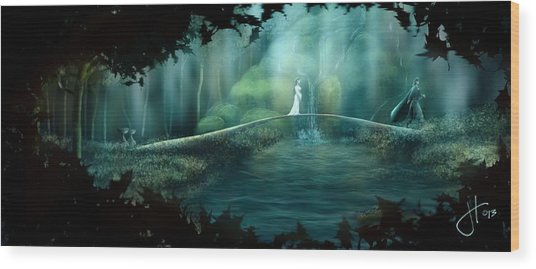 Hope To The Dunedain Wood Print