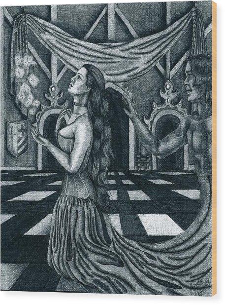 Hopes And Dreams Wood Print by Scarlett Royal