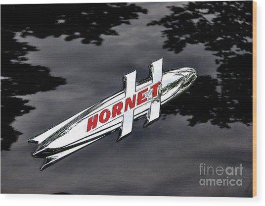 Hornet Wood Print