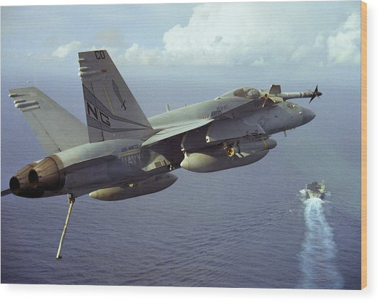 Hornet's Nest Wood Print by Aviation Heritage