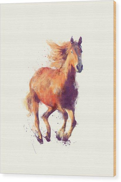 Horse // Boundless Wood Print