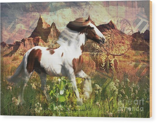 Horse Medicine 2015 Wood Print