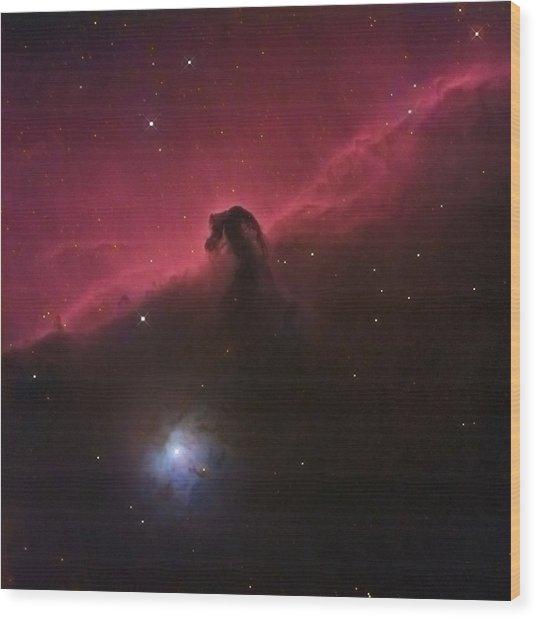 Horsehad Nebula II Wood Print