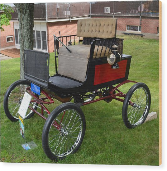 Horseless Carriage-c Wood Print