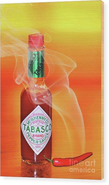 Hot Cravings By Kaye Menner Wood Print