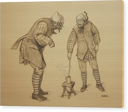 Hot Toddy Wood Print