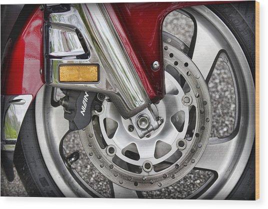 Hot Wheel Wood Print