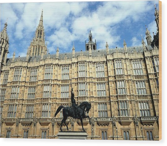 Houses Of Parliament Wood Print by Dmytro Toptygin