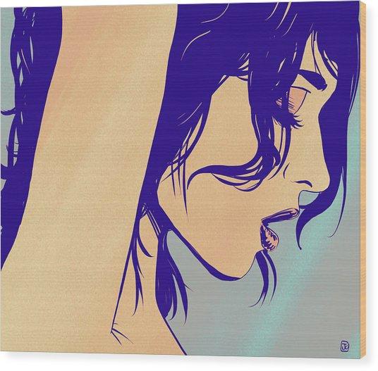 However Wood Print