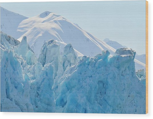 Hubbard Glacier Wood Print