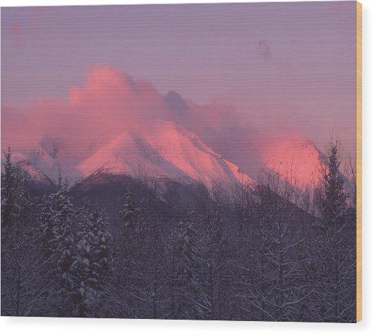 Hudson Bay Sunrise Wood Print