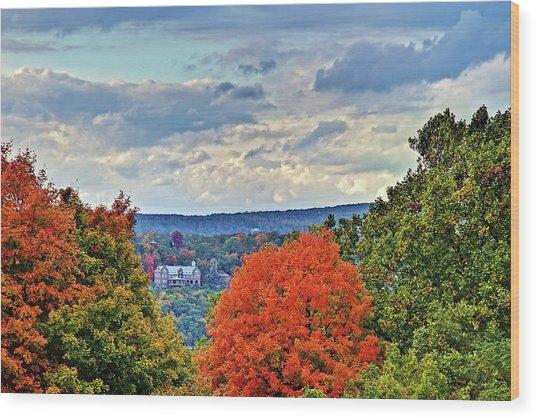 Hudson Valley Hyde Park Ny Wood Print