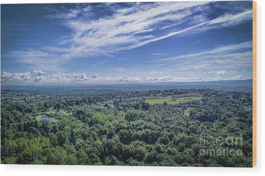 Hudson Valley View Wood Print