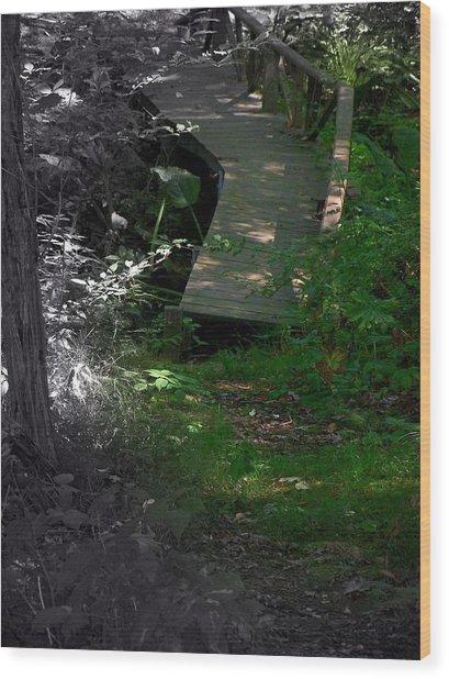 Hugh's Bridge Wood Print