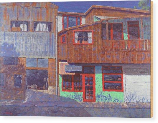 Hull Ave Hangover Wood Print
