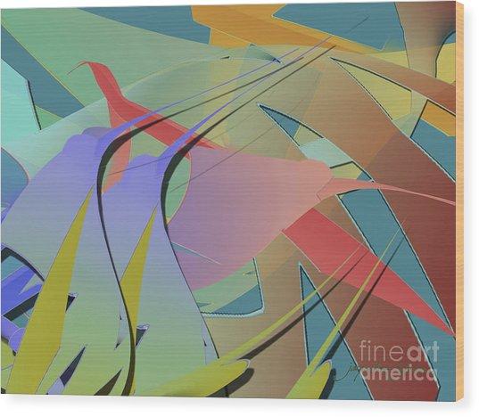 Hummingbird Convention Wood Print