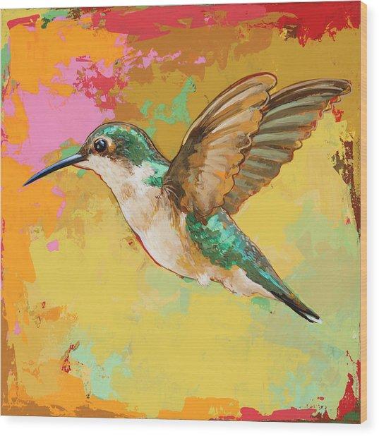 Hummingbird #19 Wood Print
