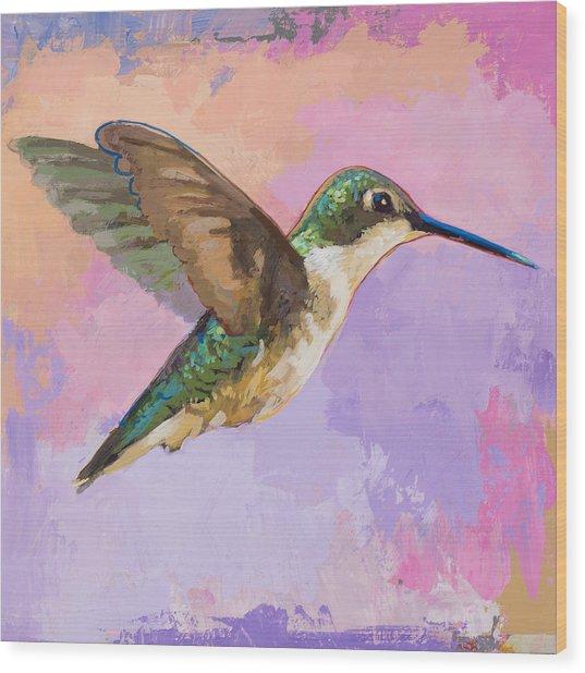 Hummingbird #2 Wood Print