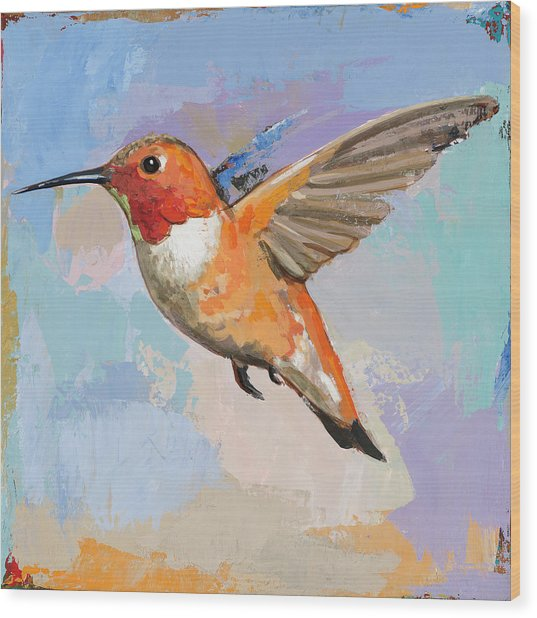 Hummingbird #7 Wood Print
