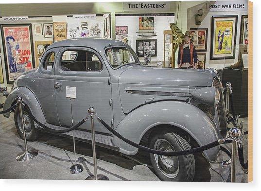 Humphrey Bogart High Sierra Car Wood Print